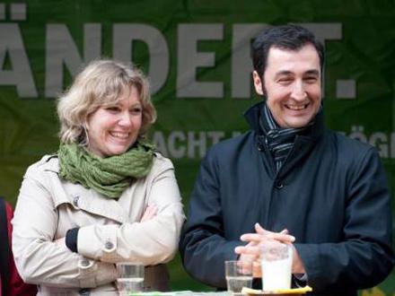 Daniela Schenckenburger und Cem Özdemir