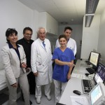 Gemeinsamer Besuch mit der Gesundheitsministerin in der Krupp-Klinik in Essen