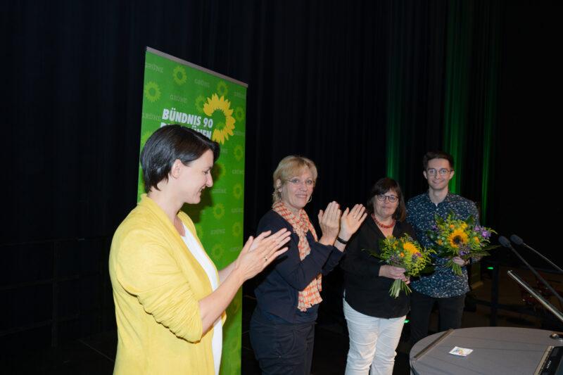 Brigit Beisheim & Patrick Voss mit Daniela Schneckenburger & Irene Mihalic